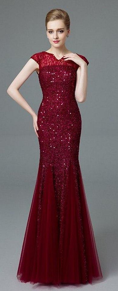 Women Sexy 30s Brief Elegant Mermaid Evening Dress ideas 21