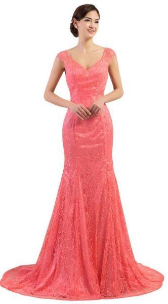 Women Sexy 30s Brief Elegant Mermaid Evening Dress ideas 26