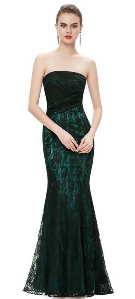 Women Sexy 30s Brief Elegant Mermaid Evening Dress ideas 36