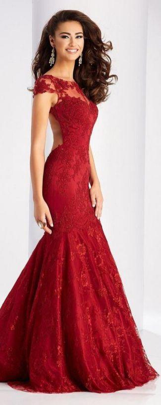 Women Sexy 30s Brief Elegant Mermaid Evening Dress ideas 39