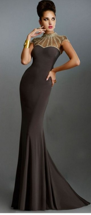 Women Sexy 30s Brief Elegant Mermaid Evening Dress ideas 5