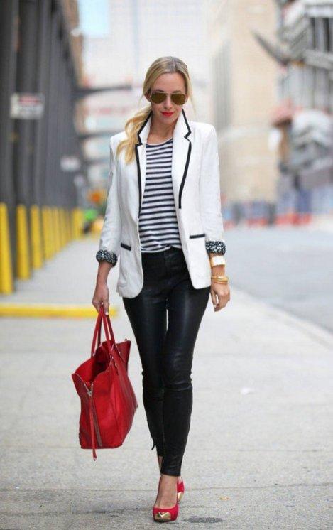 Womens blazer outfit ideas 103