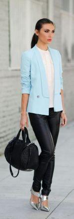Womens blazer outfit ideas 107