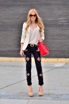 Womens blazer outfit ideas 14