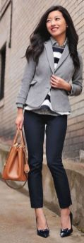 Womens blazer outfit ideas 2