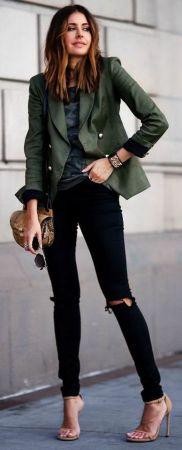 Womens blazer outfit ideas 29