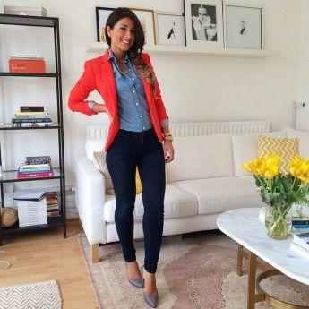Womens blazer outfit ideas 3