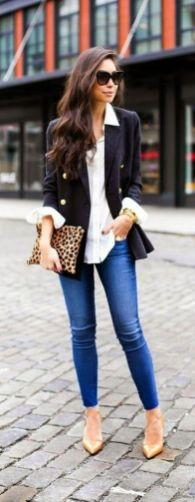 Womens blazer outfit ideas 5