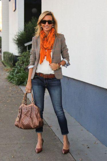 Womens blazer outfit ideas 57