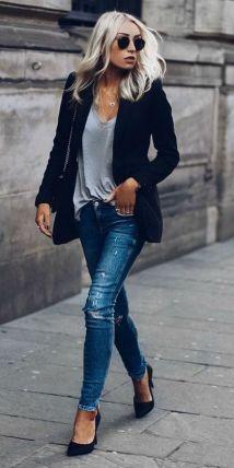 Womens blazer outfit ideas 67