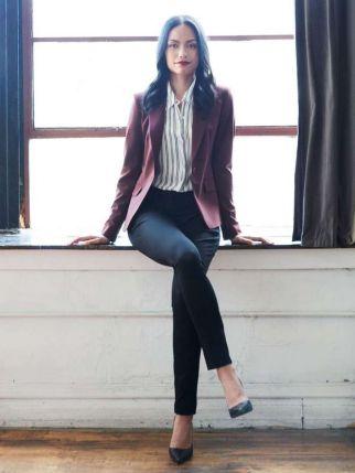 Womens blazer outfit ideas 69