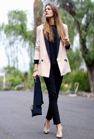 Womens blazer outfit ideas 85
