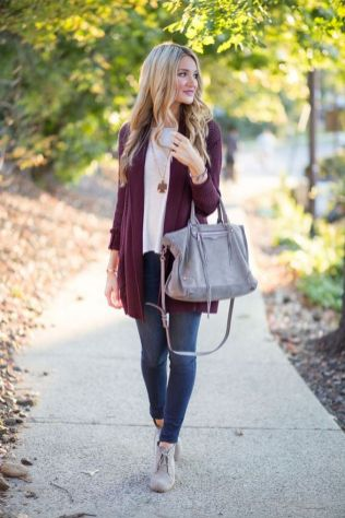 World of jeans cute winter outfits ideas 20