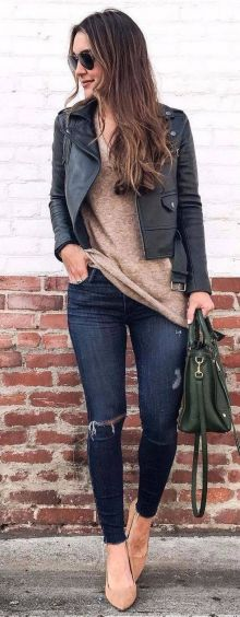 World of jeans cute winter outfits ideas 24