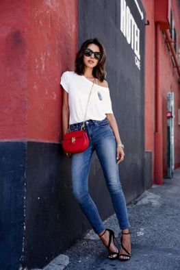 World of jeans cute winter outfits ideas 29