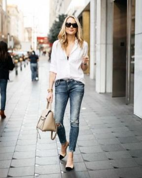 World of jeans cute winter outfits ideas 30