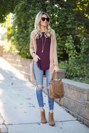 World of jeans cute winter outfits ideas 34