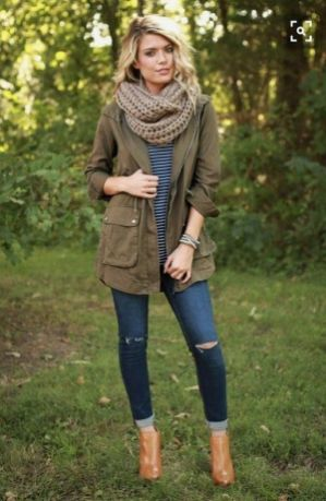 World of jeans cute winter outfits ideas 37