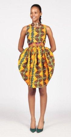 african prints short dresses 1