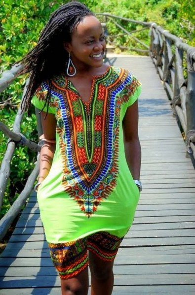 african prints short dresses 10