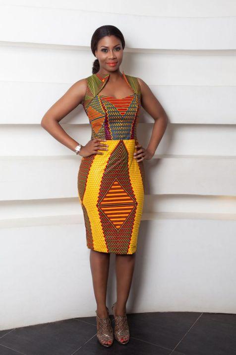 african prints short dresses 13