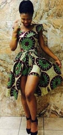 african prints short dresses 20