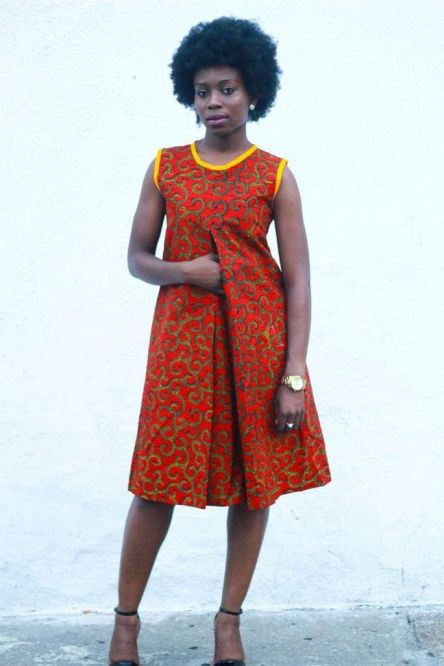 african prints short dresses 21