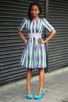 african prints short dresses 26