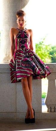 african prints short dresses 38