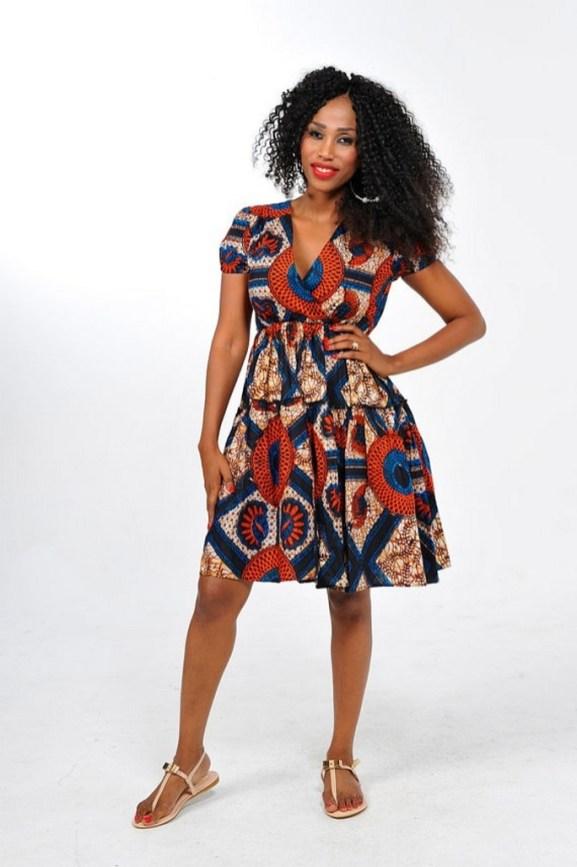 african prints short dresses 39