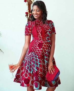 african prints short dresses 41