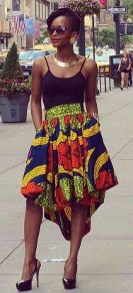 african prints short dresses 45