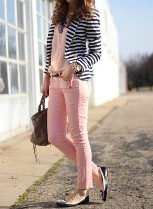 black and white striped blazer womens 24