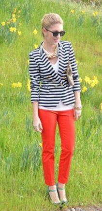 black and white striped blazer womens 30