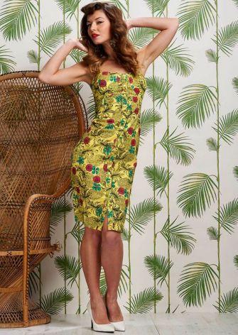 hawaiian prints dresses ideas 71