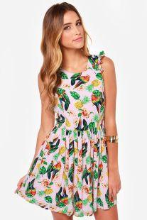 hawaiian prints dresses ideas 72