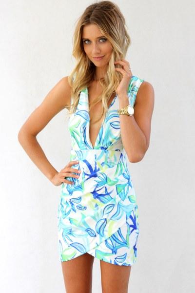 hawaiian prints dresses ideas 84