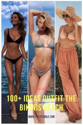 100 Ideas Outfit the Bikinis Beach