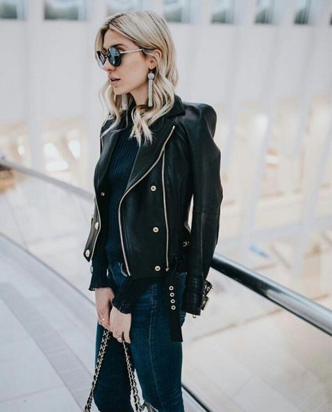 90 Style A Leather Jacket Ideas 12