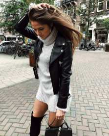90 Style A Leather Jacket Ideas 86
