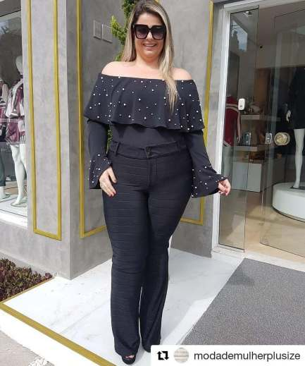 Big Size Outfit Ideas 103