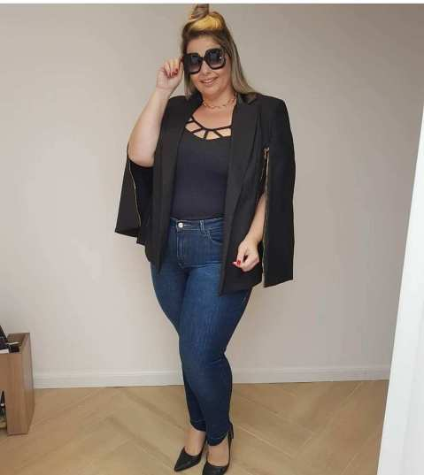 Big Size Outfit Ideas 18