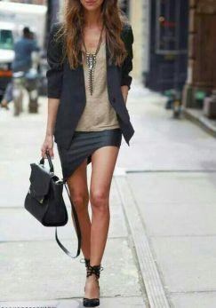 40 Asymmetric Skirts Street Styles Ideas 11