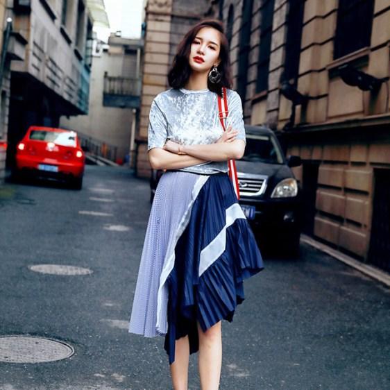 40 Asymmetric Skirts Street Styles Ideas 13
