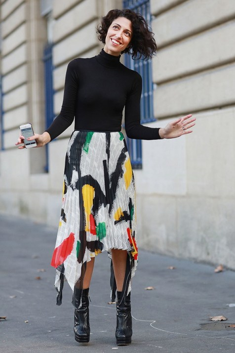 40 Asymmetric Skirts Street Styles Ideas 19
