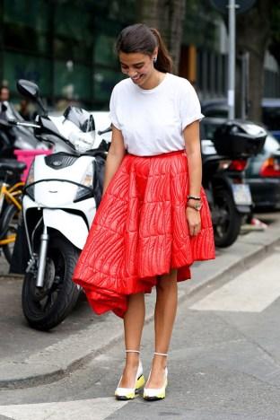 40 Asymmetric Skirts Street Styles Ideas 20