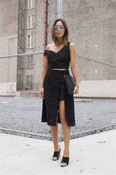 40 Asymmetric Skirts Street Styles Ideas 40