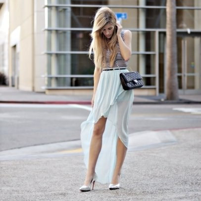 40 Asymmetric Skirts Street Styles Ideas 41