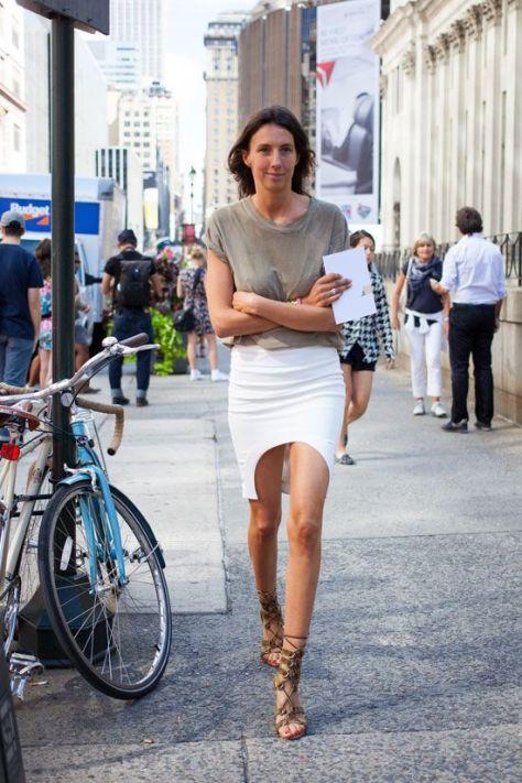 40 Asymmetric Skirts Street Styles Ideas 7