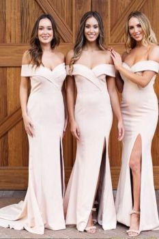 40 Bridesmaid with Mermaid Dresses to Copy Ideas 29